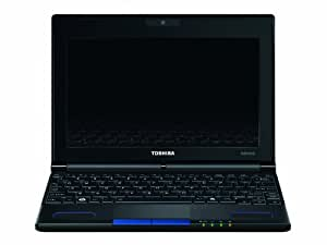 Toshiba NB550D-10T 10.1 inch Netbook (AMD C60 1.0/1.3GHz, RAM 1GB, HDD 250GB, Windows® 7 Starter 32-bit , HDMI Port) - Blue