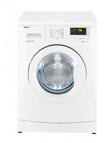 Beko WMB 61632 PTEU Waschmaschine Frontlader / A++A / 170 kWh/Jahr / 8800 Liters/Jahr / 1600 UpM / 6 kg / Multifunktionsdisplay / 15 Waschprogramme / Pet Hair Removal / weiß