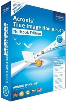 Acronis True Image Home 2010: Netbook Edition