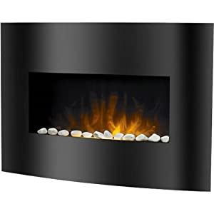 Affinity Electric Fireplace Heater With Remote Floor Heating Registers