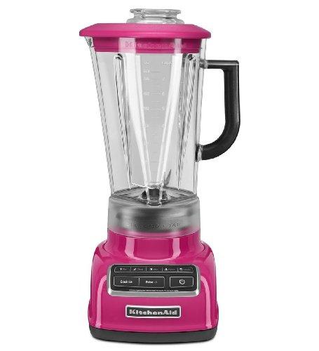 Kitchenaid Diecast 5-Speed Blender Ksb1575Cb Diamond Vortex Blade Cranberry front-524918
