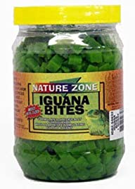 Nature Zone SNZ54632 Iguana Bites Soft Moist Food, 24-Ounce