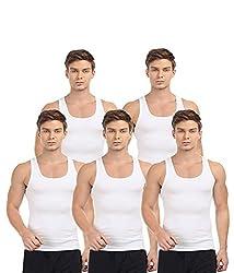 BLIVE Men's Premium Cotton Vest (5, XX-Large)