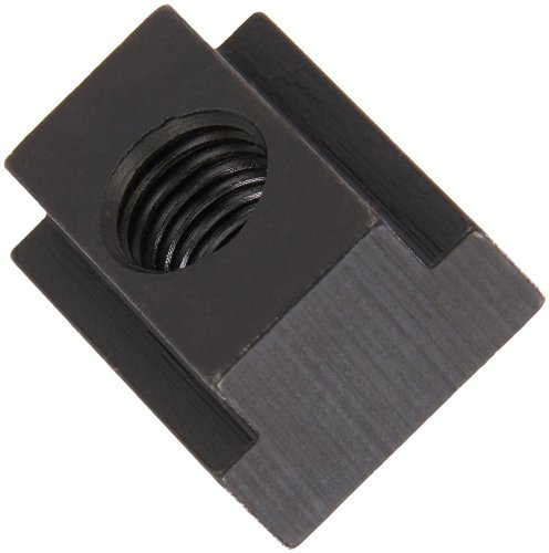 1018 Steel T-Slot Nut, Black Oxide Finish, Grade 4, 5/8