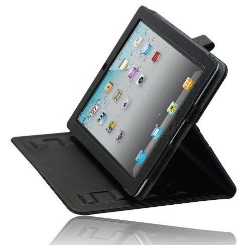 Splash Safari Folio Case with Stand for iPad 2 - Black