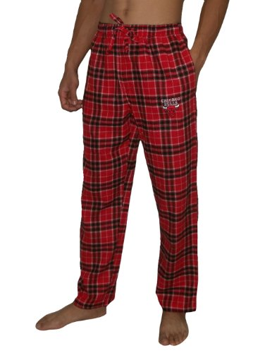 NBA CHICAGO BULLS Mens Fall / Winter Plaid Pajama Pants XL Multicolor at Amazon.com