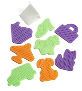 Perler Beads Novelty Pegboards, Small 8 Count