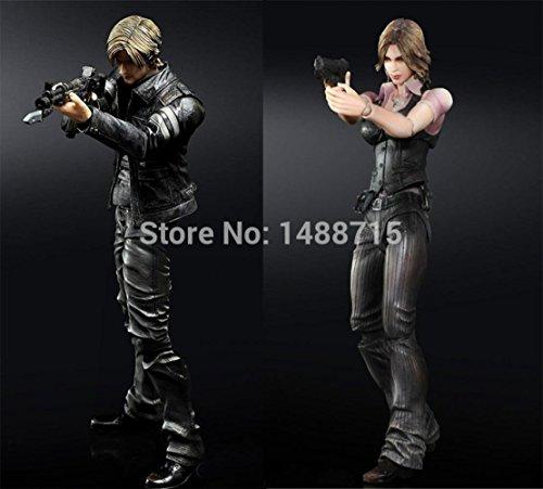 [Game Resident Evil 6 Leon S. Kennedy Helena Harper 22CM/8.7