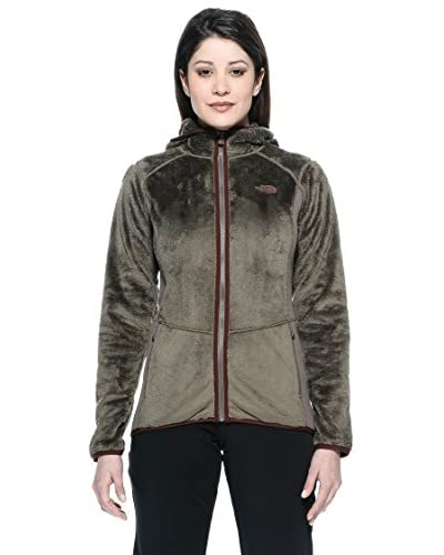 The North Face Chaqueta W Mossbud Fz Hdy Wmrnr Verde Oliva