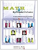 img - for Math and Mathematicians: The History of Math Discoveries Around the World (Volumes A-H and I-Z) book / textbook / text book