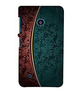 printtech Art Pattern Floral Back Case Cover for Nokia Lumia 530::Microsoft Lumia 530