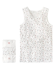 3 Pack Autograph Superfine Pure Cotton Assorted Vests