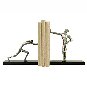 Global Views Bookends, Blockhead, Pair