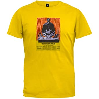 Mars Volta - Mens Evil T-Shirt X-large Yellow