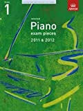 ABRSM Selected Piano Exam Pieces: 2011-2012 (Grade 1) - Book Only ABRSM Publishing