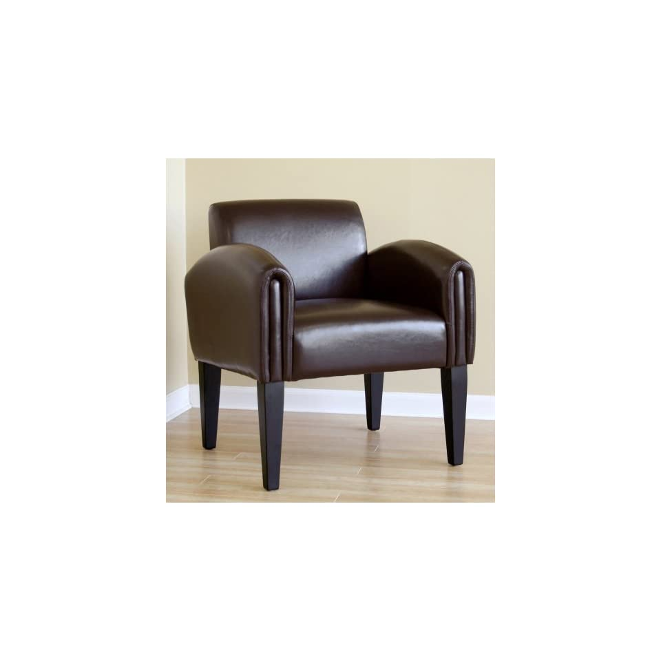 Leather Modern Club Chair Wholesale Interiors   Y 26