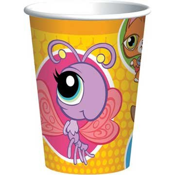 Littlest Pet Shop Paper Cups, 8ct