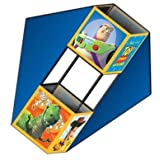 "3 D 38"" Toy Story Wingbox Nylon Deluxe Kite Ready To Fly."