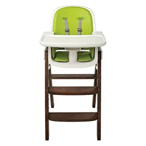 OXO Tot Sprout Chair, Green/Walnut