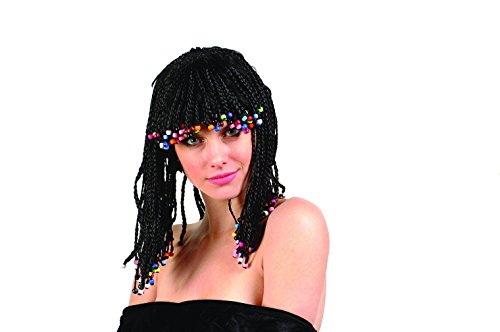 Corn Row Wig Costume Accessory (Corn Rows Wig compare prices)