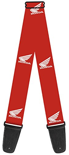 honda-automobile-company-motorcycle-wings-logo-red-guitar-strap