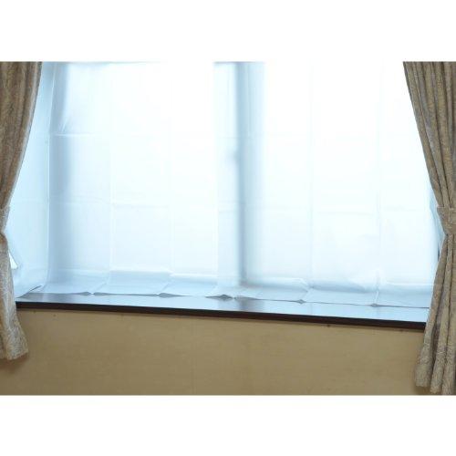 山善(YAMAZEN) 断熱断冷カーテン(幅110高さ145cm 2枚組) WPC-S(WH) ホワイト
