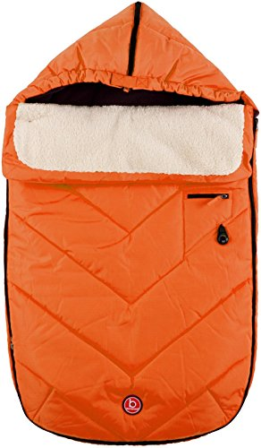 Blue Banana Urban Traveller Footmuff - Orange