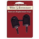 EuroCave Replacement Keys -Set of 2
