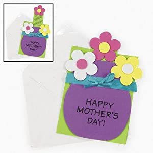 Mother 39 s day pull out card craft kit crafts for Mother s day craft kits
