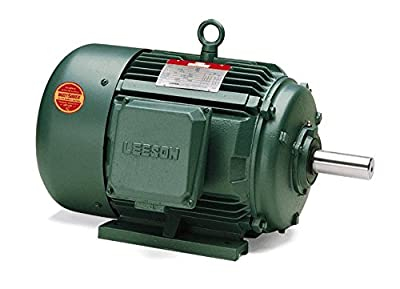 15hp 1770RPM 254T Frame 208-230/460 Volts TEFC Leeson Electric Motor # 170066