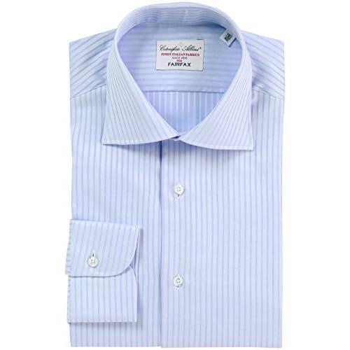 (フェアファクス)FAIRFAX ドビーワイドカラーシャツ 3003  サックス 43