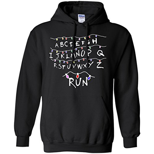 Ugly Stranger Things Light Run Christmas Hoodie