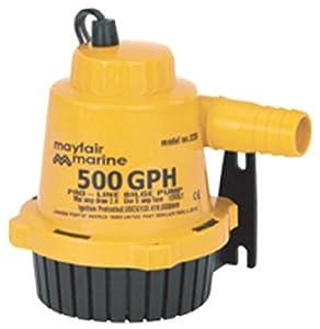 Buy Johnson Pumps of America 22702 Marine Pro-Line 750 GPH Bilge Pump by Johnson Pumps