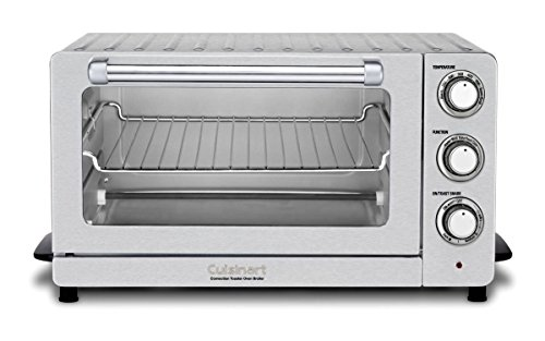 Cuisinart TOB-60NFR Toaster Oven Broiler with Convection (Certified Refurbished), Silver (1500 Watt Toaster Oven Broiler compare prices)