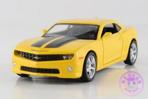 1:36 Chevrolet Camaro Bumblebee Alloy Diecast Car Model Toys Vehicle Yellow 2092 (Yellow Ss Emblems compare prices)