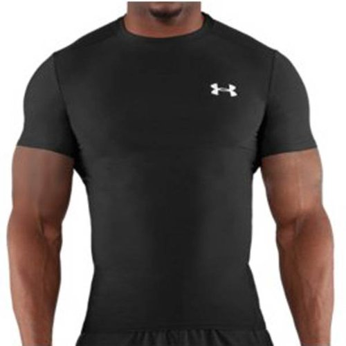 Under Armour Heat Gear Compression Short Sleeve Tee (1201166-001)