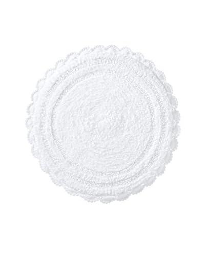 Espalma Crochet Round Rug