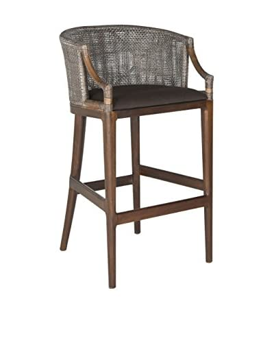 Safavieh Brando Barstool, Brown/Black