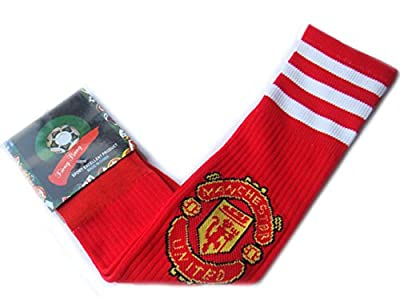 Manchester United Adult Size Soccer Team Socks