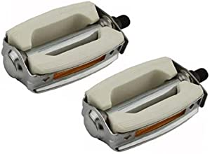 Krate 12quot Pedals Chrome amp White