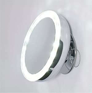 Amazon Com Mirror Place Led Lighted Suction Cup 10x