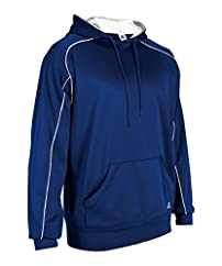 Russell Athletic Men's Technical Performance Fleece Oversized Hoodie