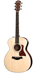 Taylor Guitars 214e, Grand Auditorium, Solid Sitka Spruce Top, Rosewood Back/Sides, ES-T