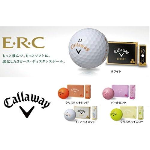 Callaway(キャロウェイ) 2013 ERC ボール クリスタルイエロー 1ダース(12個入り)