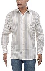 Major Sab Men's Casual Shirt MS7129L1_Light Green_XL