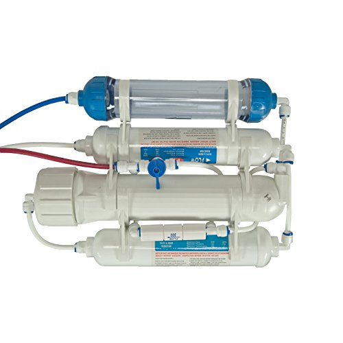 Compact-4-stage-Reverse-Osmosis-Water-Filter-including-DI-Resin-stage-for-Aquatics