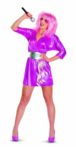 Disguise Jem and The Holograms Deluxe Womens Costume, Small/4-6