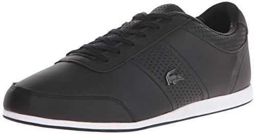 Lacoste Men's Embrun 116 2 Cam Fashion Sneaker Fashion Sneaker, Black, 9 M US