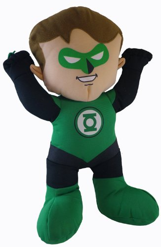 Green Lantern Plush Toy - DC Super Friends Doll (9 Inch)