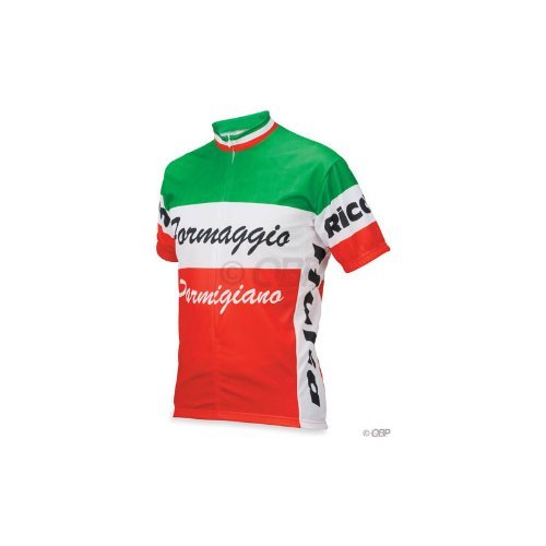 Buy Low Price World Jerseys Formaggio Italia, Medium (CL5173BP)